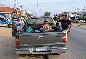 Pickup fahren