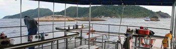 Oberes Deck - Tauchschule Phuket
