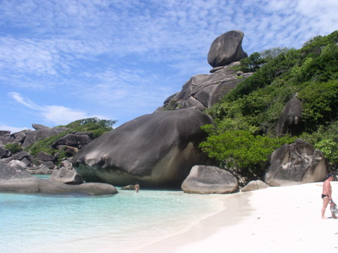 Donald Duck Bucht - Similan Island