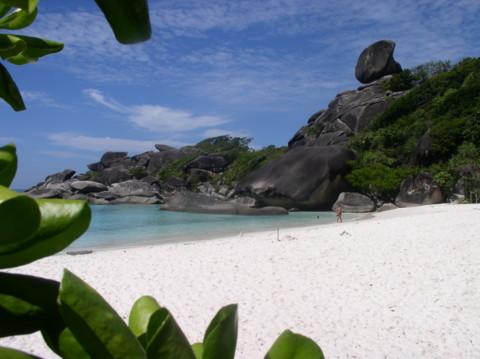 Hauptinsel der Similans. Koh Similan Nr. 8 - Tauchen Phuket