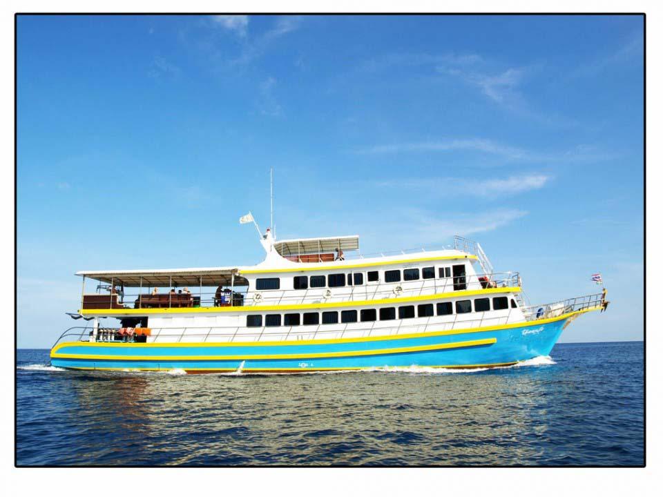 Tauchsafarischiff MV Oktavia - Kamala Dive Center