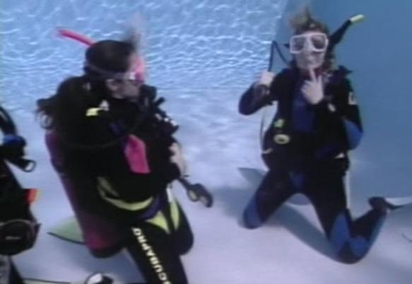 Divemaster Schwimmbadausbildung