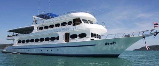 Safarischiff - Phuket Tauchschule