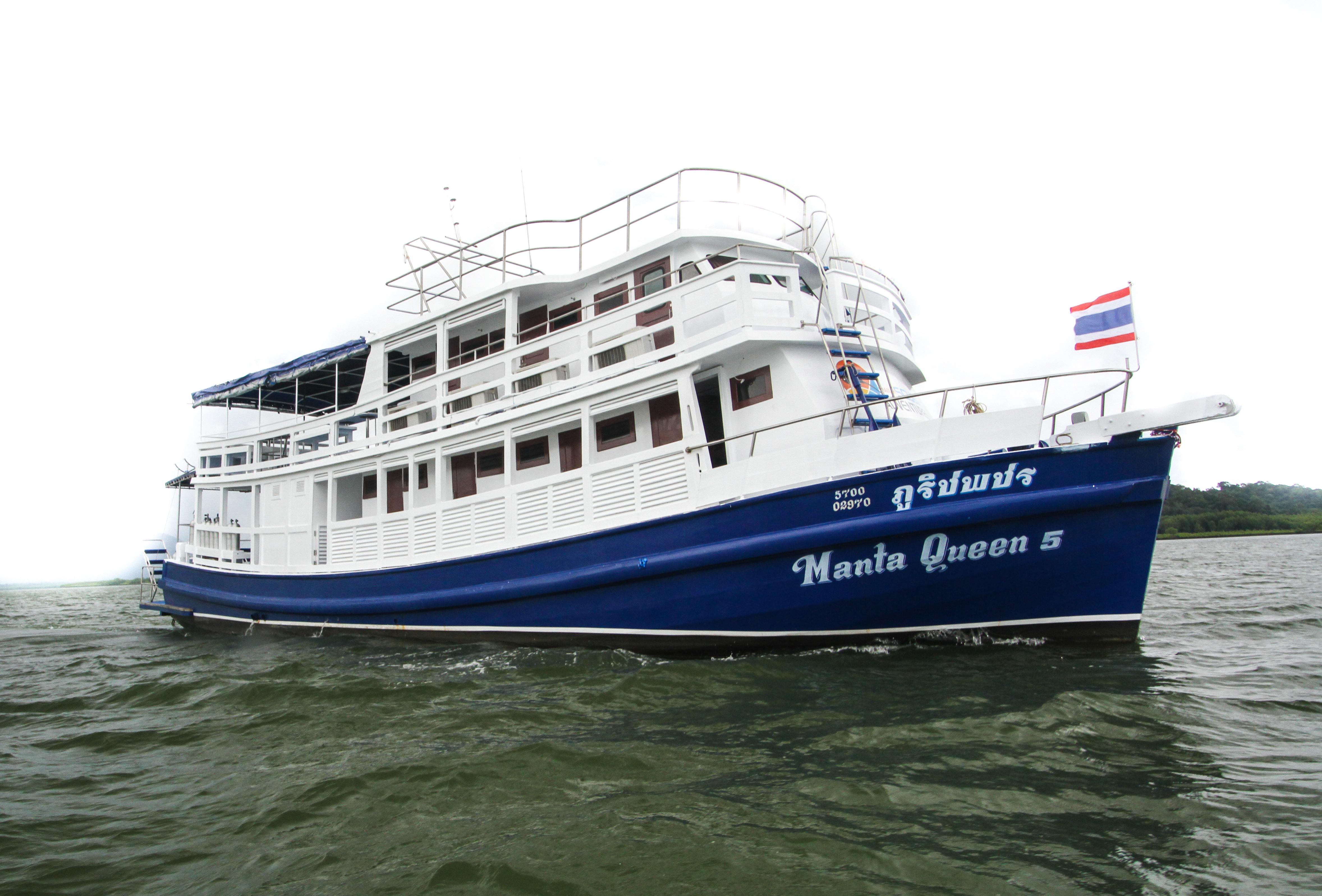 Safariboot - Phuket Tauchschule