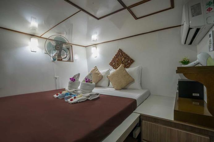 Standart Doppelbettkabine Phuket Tauchschule