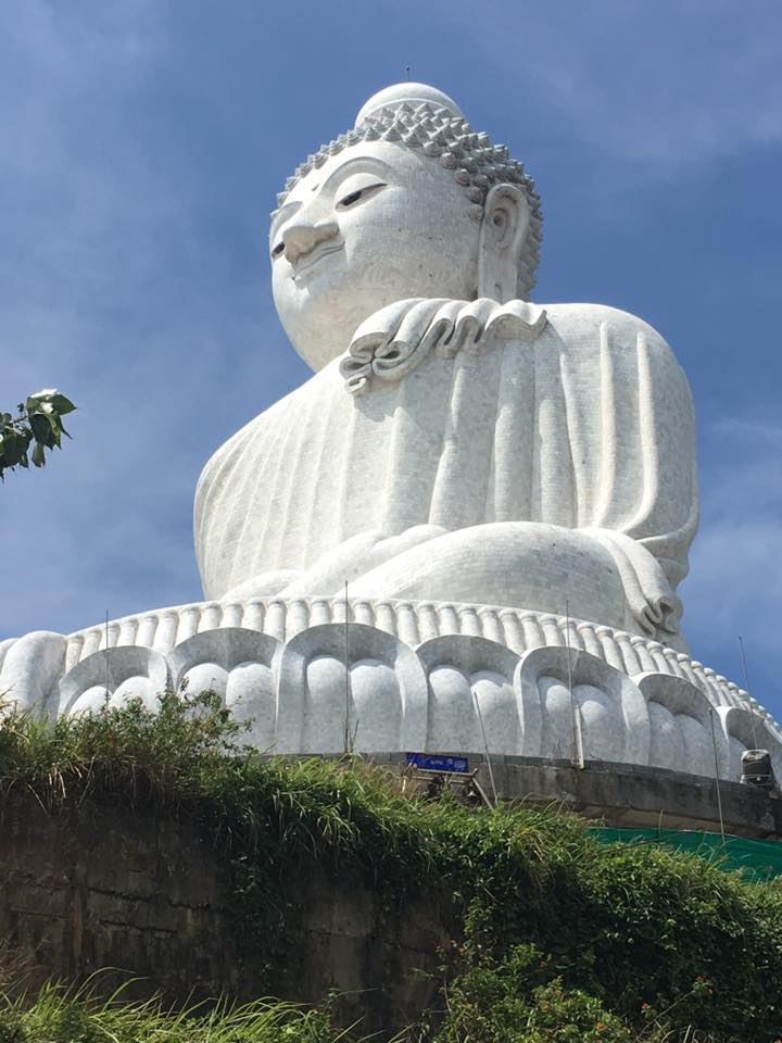 The big Buddha mit Kamala Dive Service
