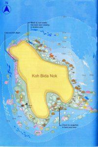 Koh Bida Nok mit Kamala Tauchschule