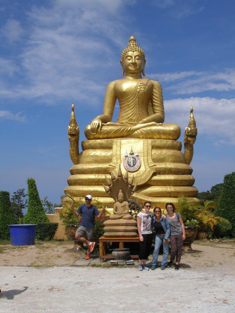 Der goldene kleine Buddha