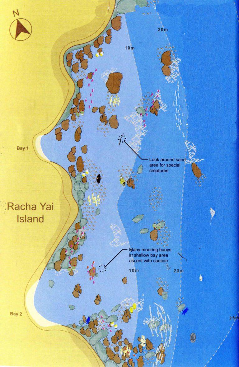 Racha Yai mit Tauchen Phuket
