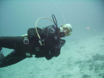 Uwe Schust,Tauchlehrer bei Kamala Dive Service/Deutsche Tauchschule Phuket