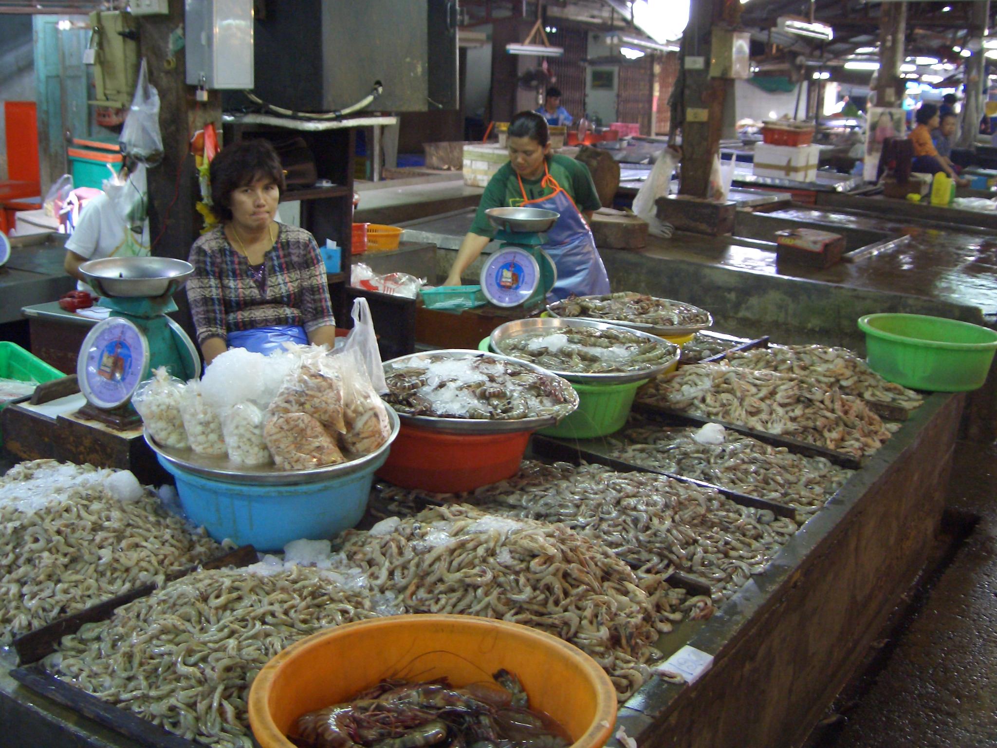 Markt Phuket Tauchschule Phuket