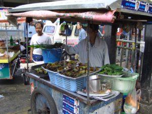 Einheimischen Markt mit Kamala Beach Tauchschule