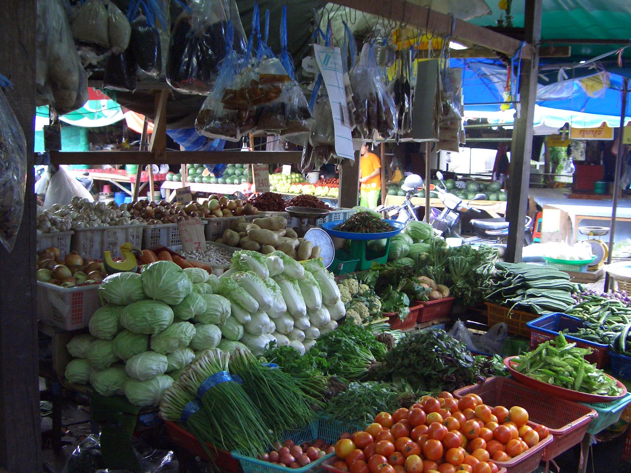Markt in Phuket Town Kamala Dive Service