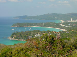 Aussichtsplattform Kata View Point Kamala Beach Tauchschule