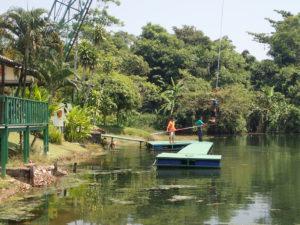 Bungysprung - Landeplattform in Kathu mit Kamala Tauchschule