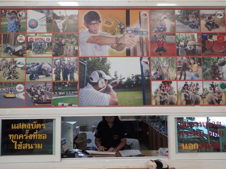 Schiesstand auf Phuket mit Deutsche Tauchschule Phuket/Kamala Dive Service