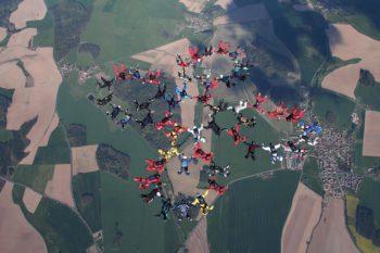 Formation Fallschirm Springen