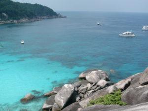 Similan Island Nr. 8 Donald Duck Bay - Kamala Beach Tauchschule