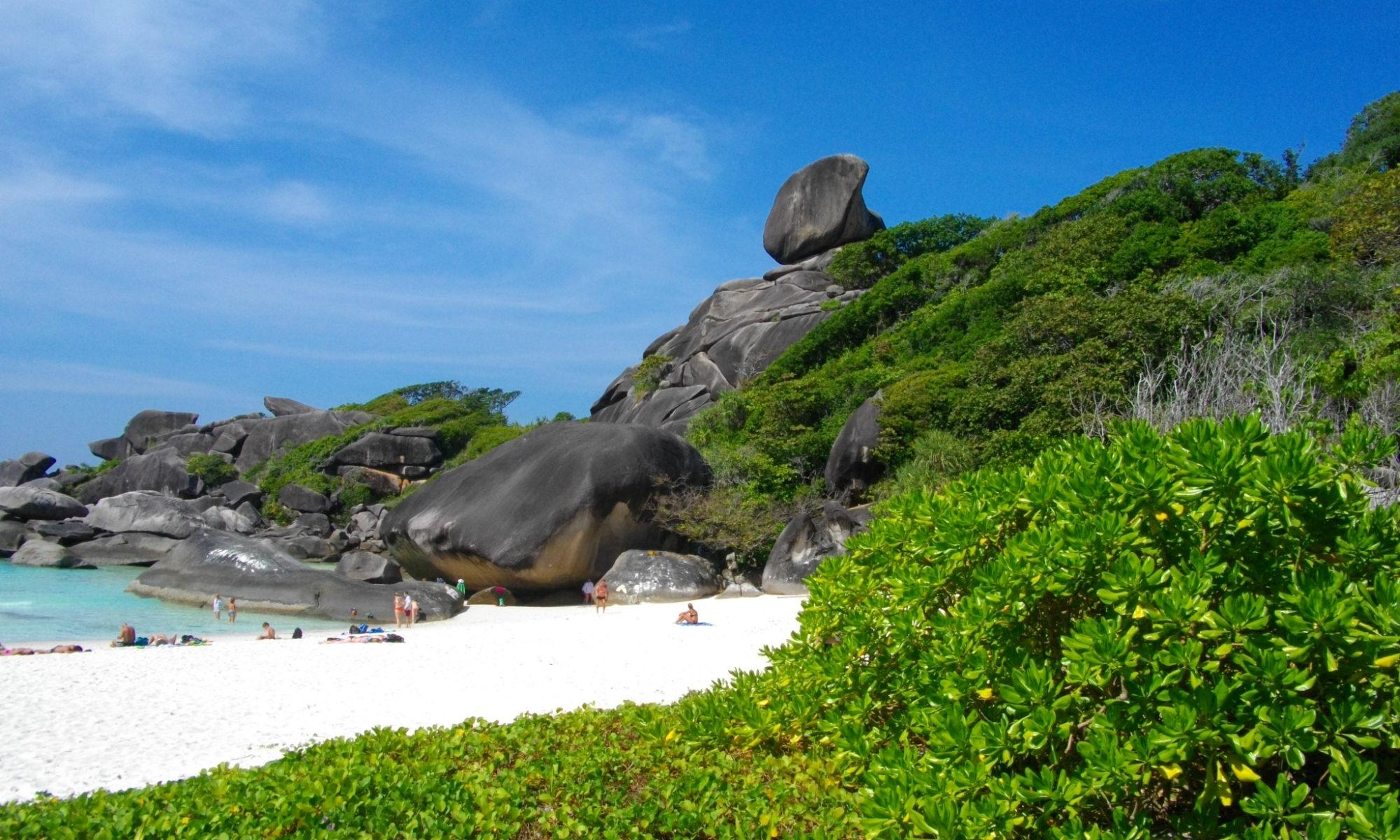 Similan Island Donald Duck Bay Insel Nr. 8 Phuket Tauchschule