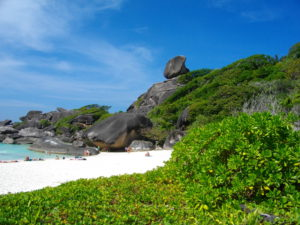 Similan Island Donald Duck Bay Insel Nr. 8 Phuket Tauchschule