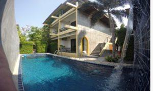 Pool Happy Hotel in Kamala Beach mit der Deutschen Tauchschule Phuket/Kamala Dive Service