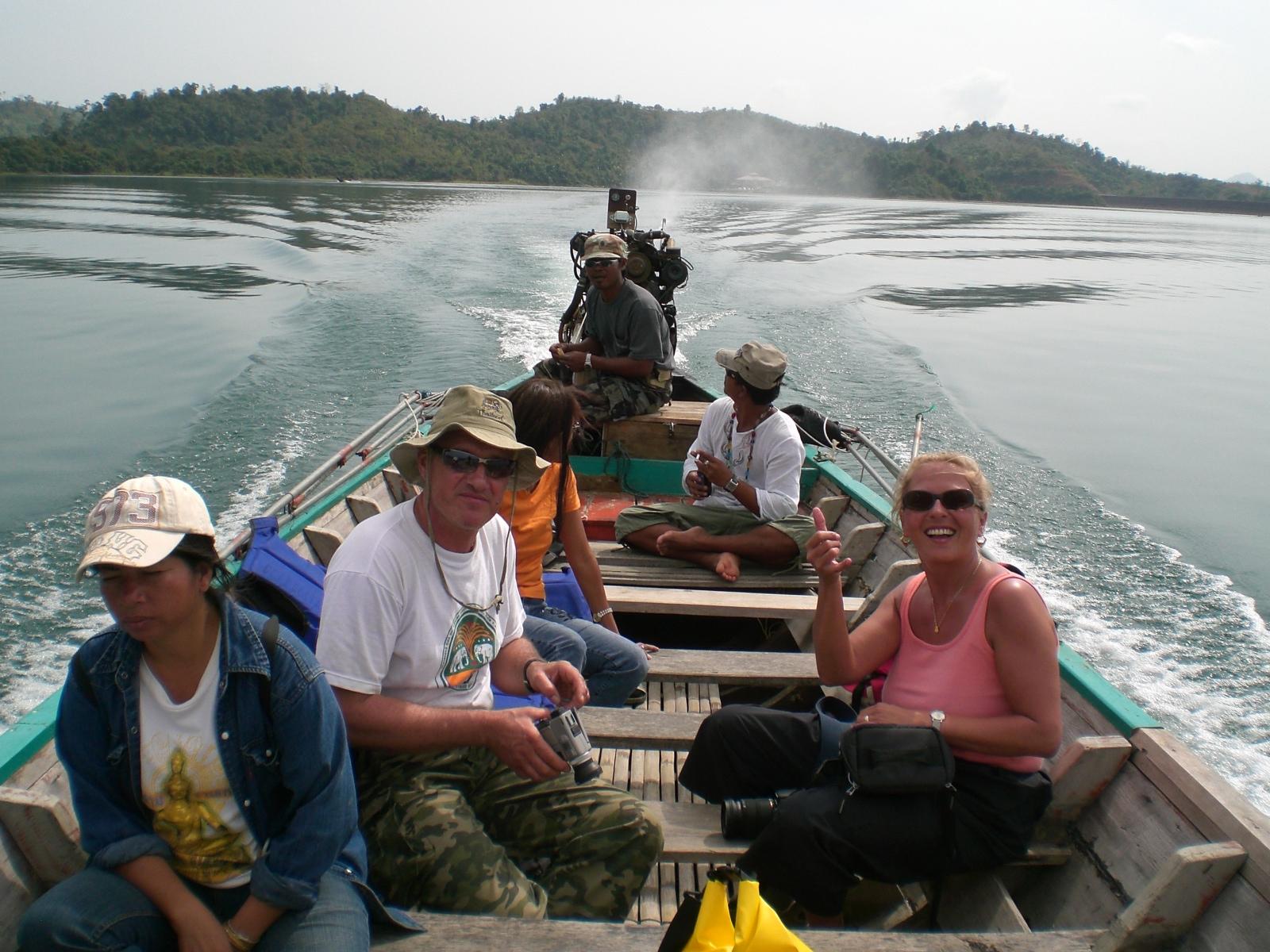 Bootsfahrt - Tauchen Phuket