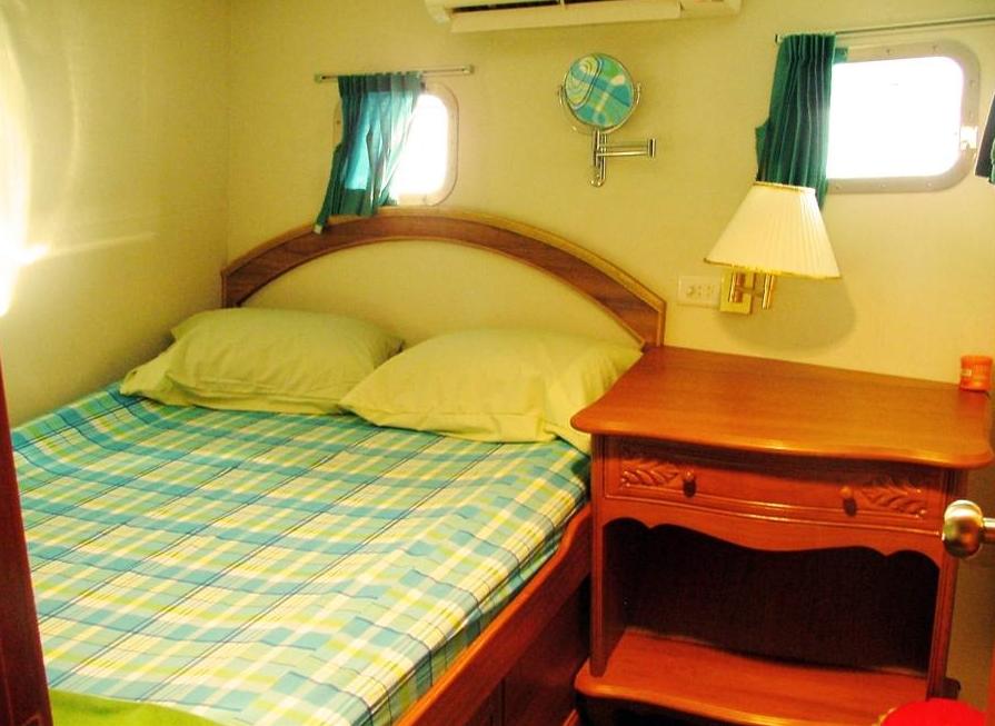Doppelbettkabine im Unterdeck - Tauchen Phuket