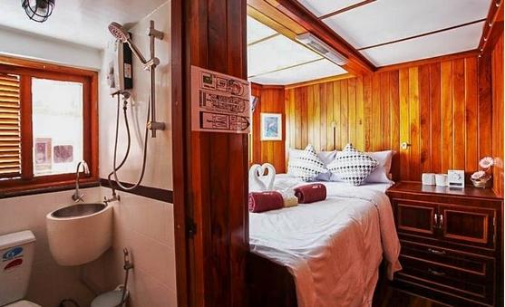 Doppelbettkabine - Phuket Tauchen