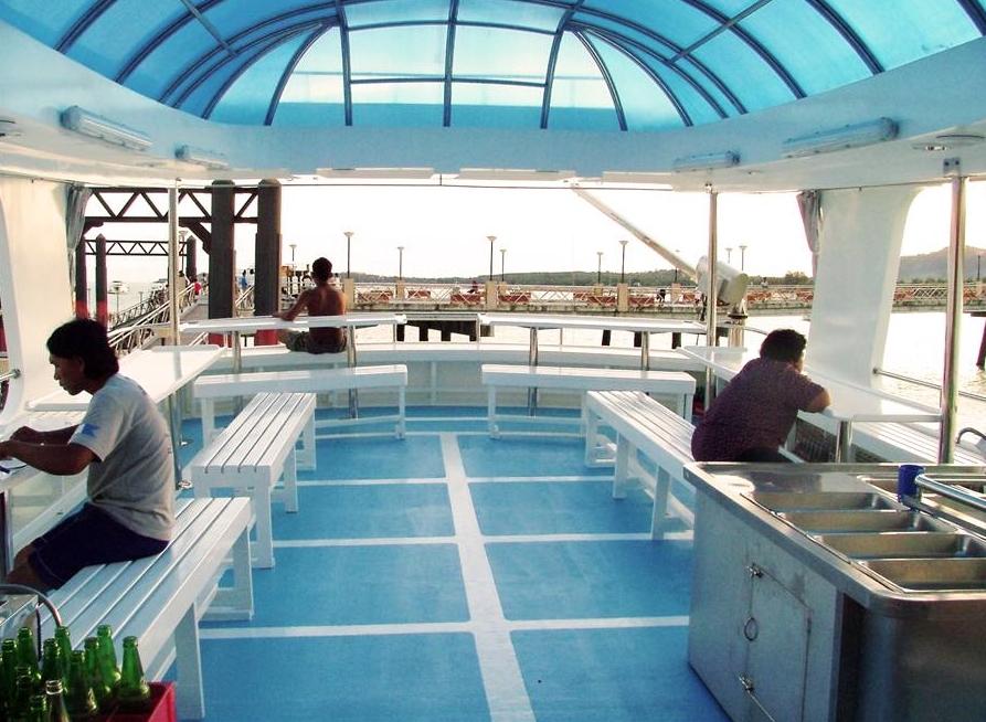 Oberdeck Safariboot - Tauchen Thailand