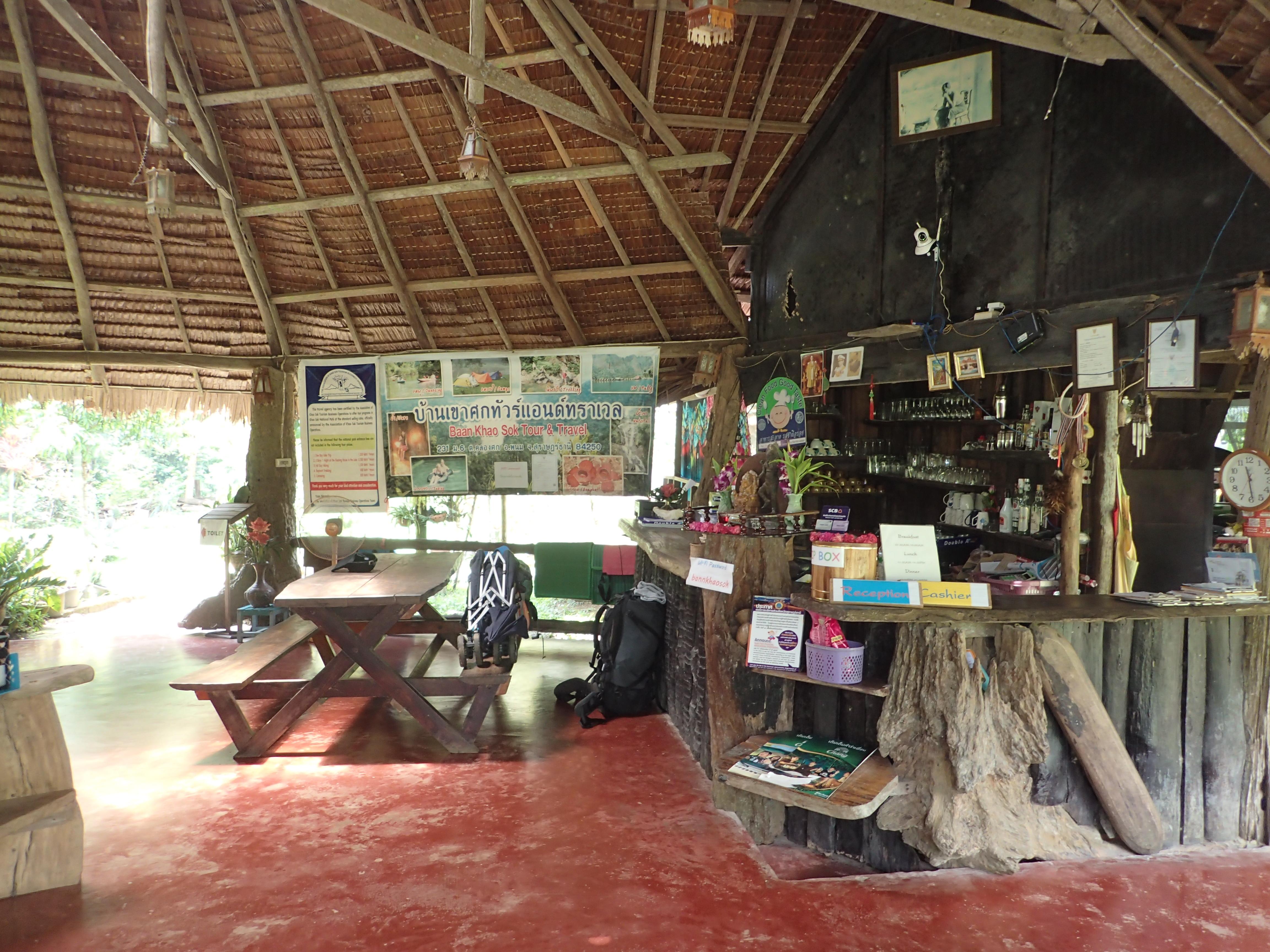 Restaurant im Khao Sok National Park Dschungelsafari
