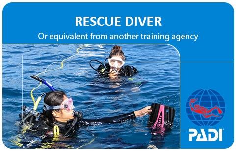 Rescue Diver Lizenz - Divecenter Kamala Beach