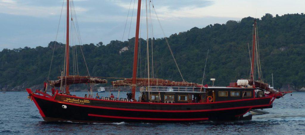 Safariboot - Phuket Tauchen
