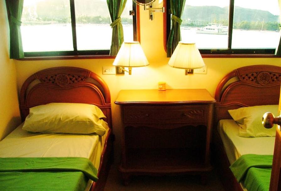 Kabine mit 2 Betten - Similan Islands Tauchsafari