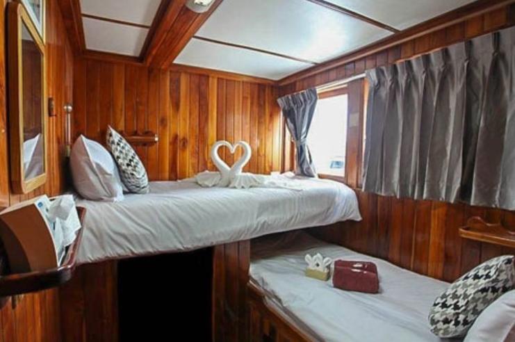 Kabine mit 2 Betten - Similan Island Tauchsafari