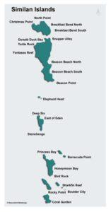 Similan Islands - Tauchplätze Tauchsafari