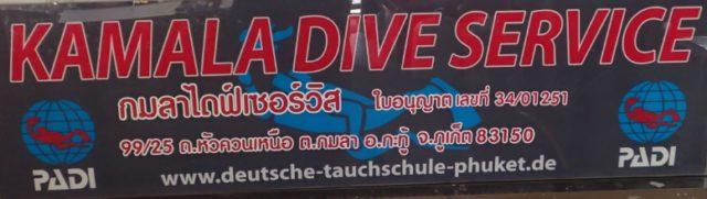 Kamala Dive Service - Phuket Tauchschule