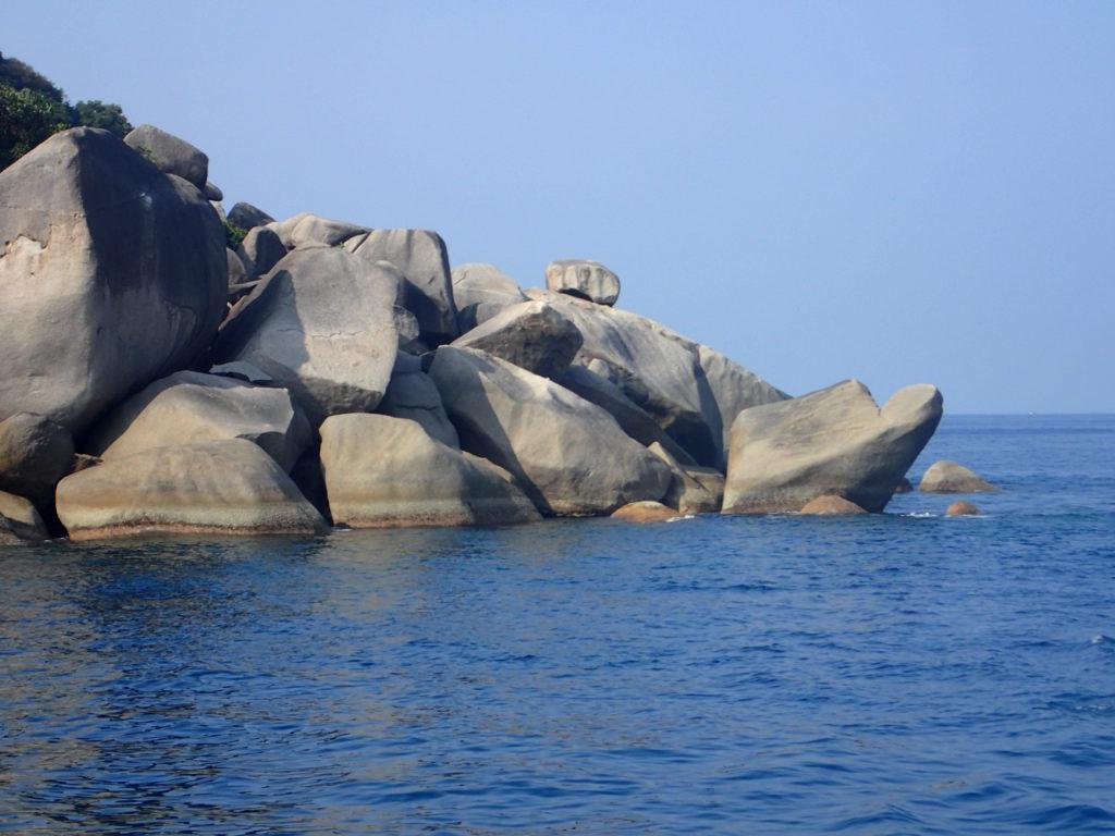 Turtle Rock - Tauchen Kamala Beach