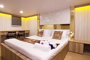 Masterkabine für 2 Personen - Phuket Tauchschule