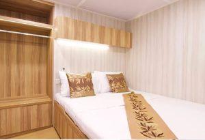 Deluxe Doppelbett Kabine für 2 Personen - Phuket Tauchschule