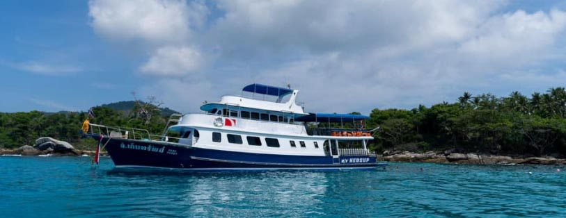 Daytrip Boat - Tauchen Phuket